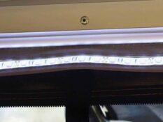 stranichna tenta s LED svetlini