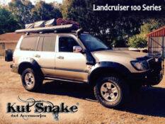уширители kut snake Toyota LC 100 - 95 mm