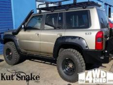 уширители kut snake Nissan Patrol Y61 series 4 - 70 mm