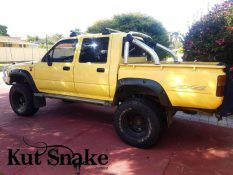 уширители kut snake Toyota Hi-Lux 106 Double cab - 95 mm